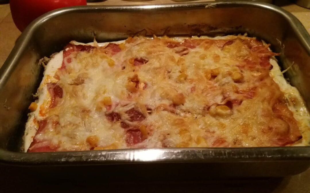 Pizza_Tejfölös alappal /Diabetikus/